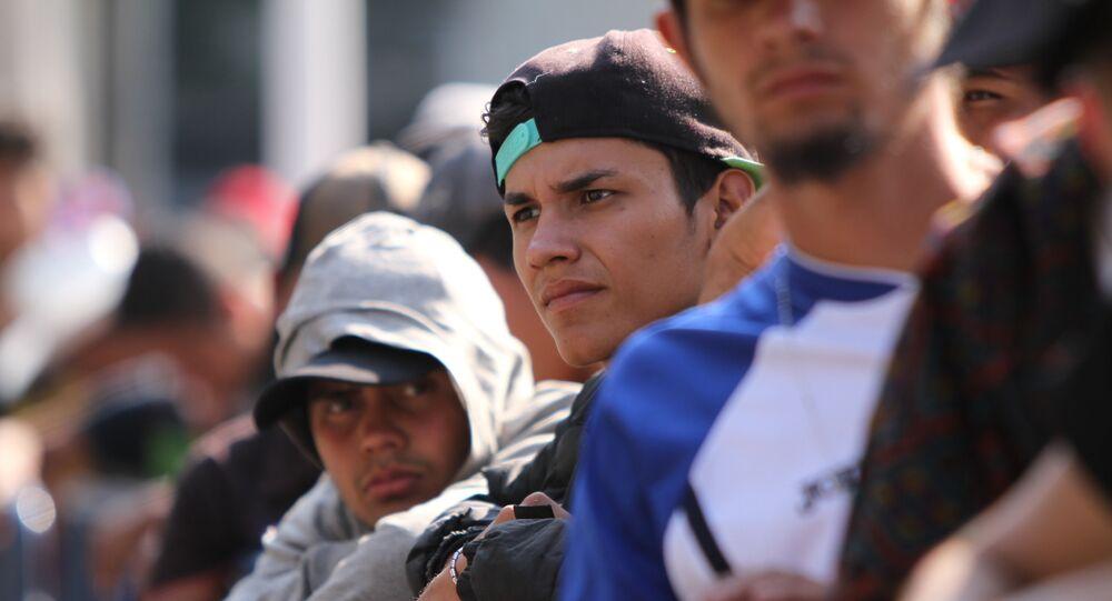 Grupo de migrantes (archivo)