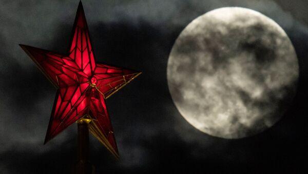 La superluna en Moscú - Sputnik Mundo