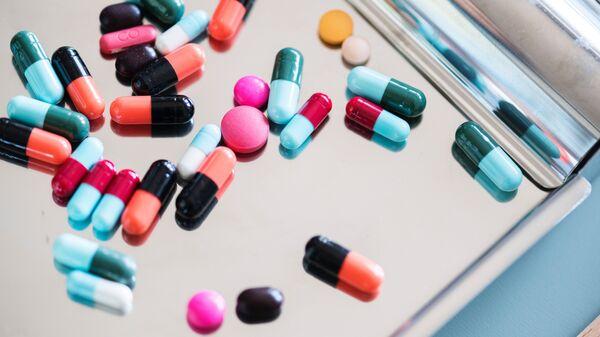 Medicamentos (imagen referencial) - Sputnik Mundo