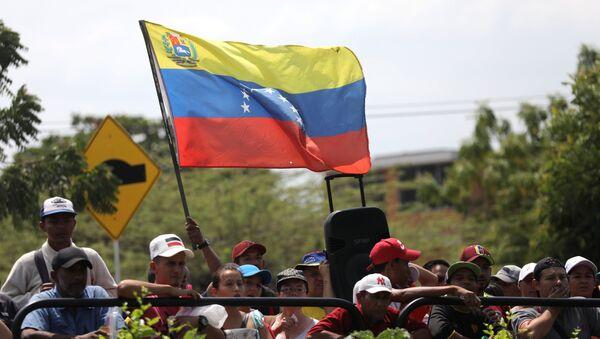 Migrantes venezolanos en Cúcuta - Sputnik Mundo