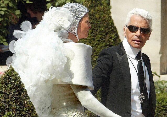 Karl Lagerfeld, diseñador de moda alemán