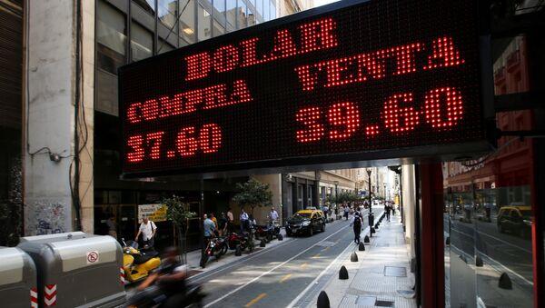 Tipo de cambio del dólar en Argentina - Sputnik Mundo