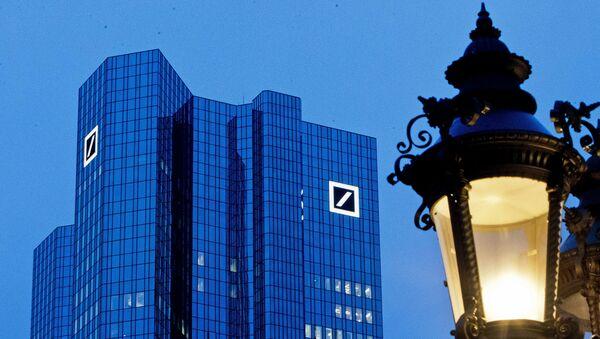 La sede de Deutsche Bank en Frankfurt, Alemania - Sputnik Mundo