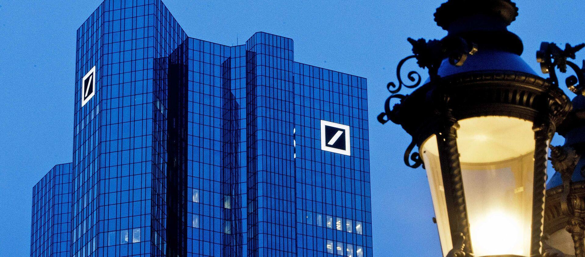 La sede de Deutsche Bank en Frankfurt, Alemania - Sputnik Mundo, 1920, 14.05.2020