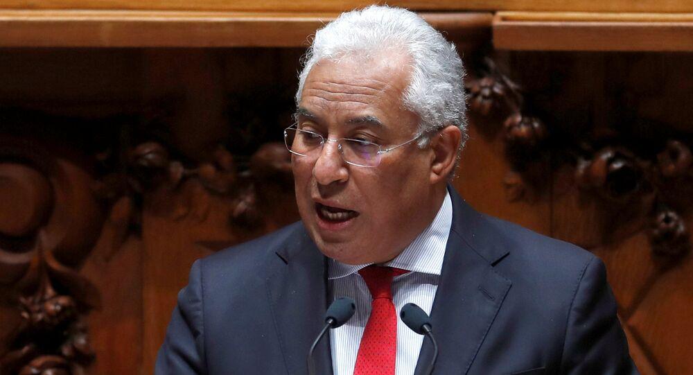 Antonio Costa, primer ministro de Portugal