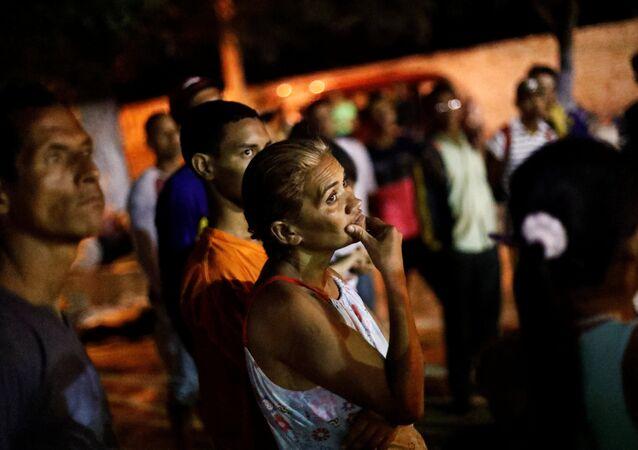 Migrantes venezolanos en Cúcuta