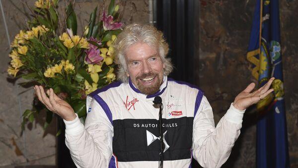 Richard Branson, el magnate inglés que financia el concierto en Cúcuta - Sputnik Mundo