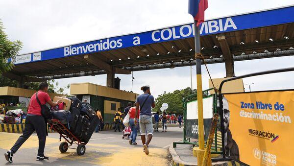 Paso fronterizo en Cúcuta - Sputnik Mundo
