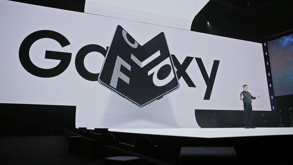 Презентация Samsung Galaxy Fold в Сан-Франциско  - Sputnik Mundo