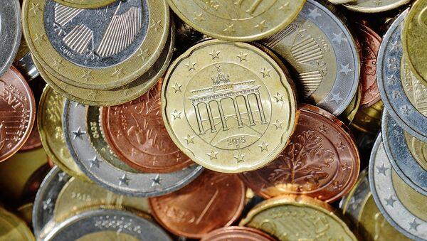 Monedas de euro alemanas - Sputnik Mundo