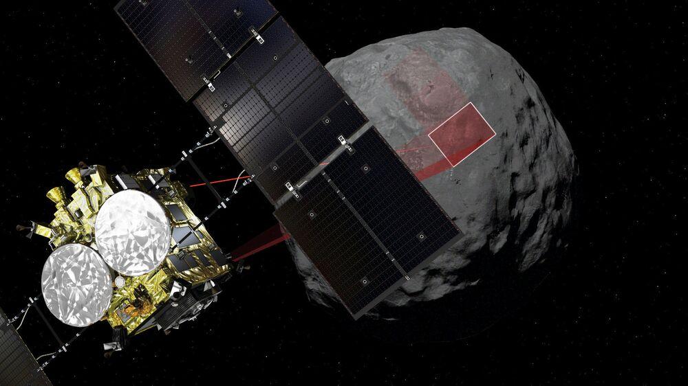 ¡Misión cumplida! Japón se posa sobre el enigmático asteroide Ryugu