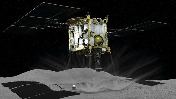 ¡Misión cumplida! Japón se posa sobre el enigmático asteroide Ryugu - Sputnik Mundo
