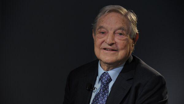 George Soros, multimillonario estadounidense - Sputnik Mundo