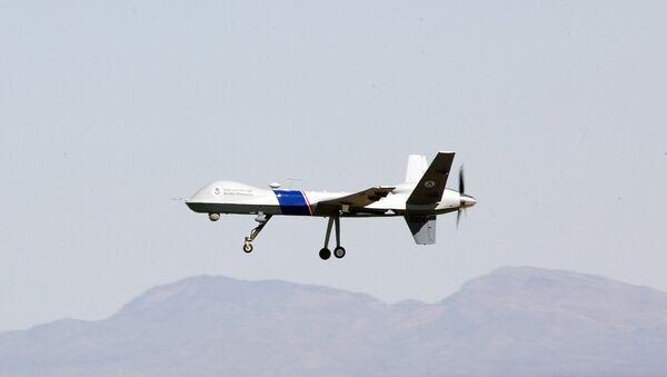 Un dron MQ-9 Reaper de EEUU - Sputnik Mundo