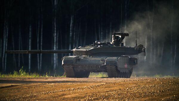 Carro de combate T-90M - Sputnik Mundo