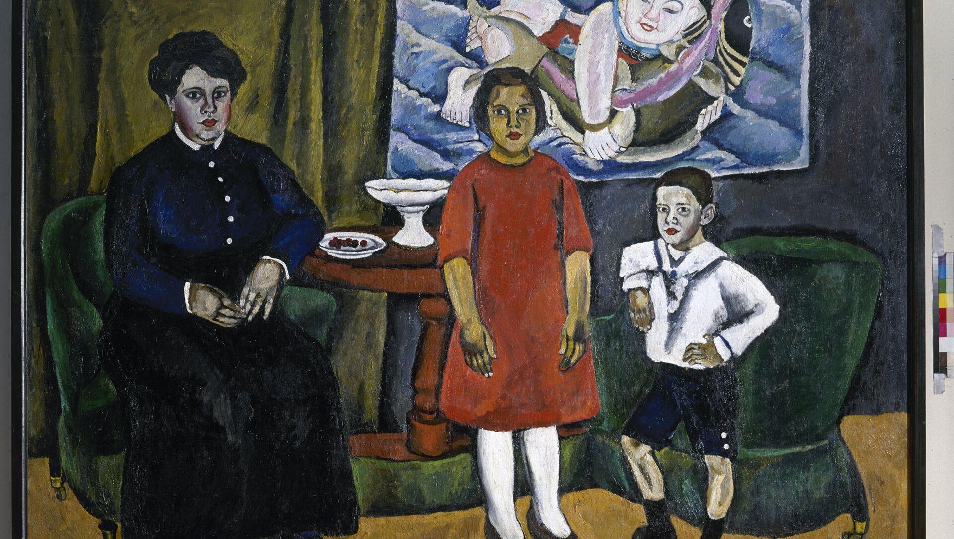 Piotr Konchalovski 'El retrato de familia' 1911 - Sputnik Mundo, 1920, 22.02.2019