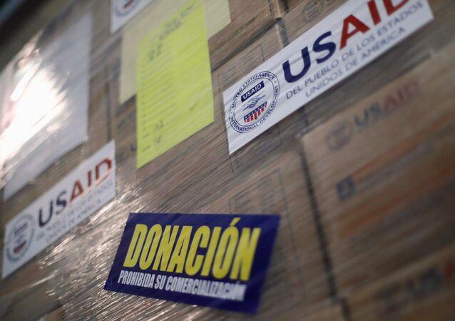 Ayuda humanitaria para Venezuela en Cúcuta