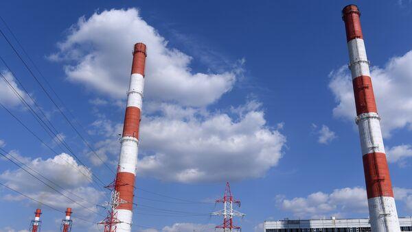 Central termoeléctrica (imagen referencial) - Sputnik Mundo
