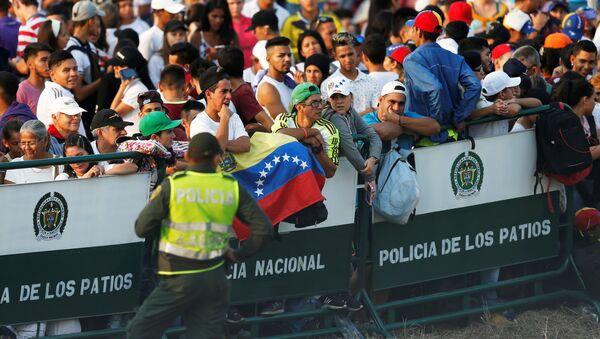 El festival Venezuela Live Aid - Sputnik Mundo