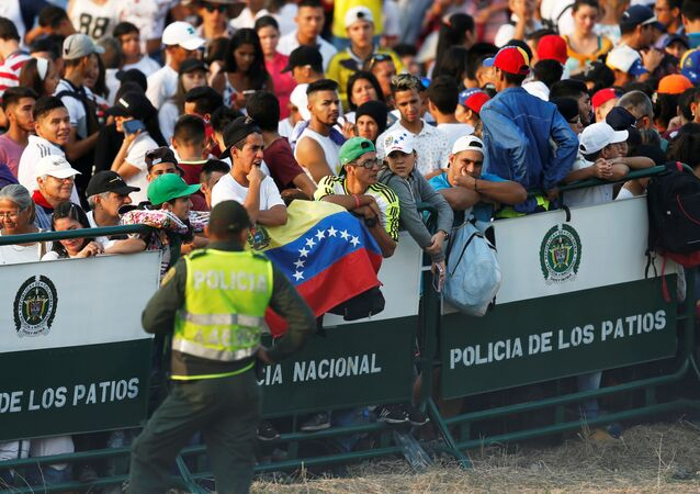 El festival Venezuela Live Aid
