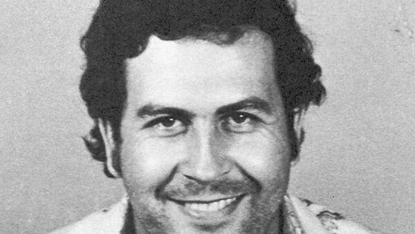 La foto de captura de Pablo Escobar en Colombia en 1977 - Sputnik Mundo