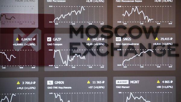 La bolsa de Moscú - Sputnik Mundo