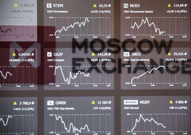La bolsa de Moscú