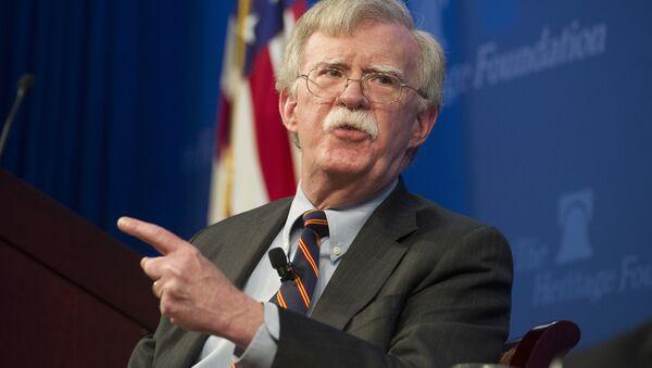 John Bolton, consejero de Seguridad Nacional de EEUU - Sputnik Mundo