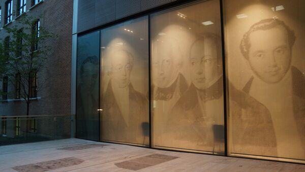 Retratos de los Rothschild en el Banco Rothschild en Londres - Sputnik Mundo