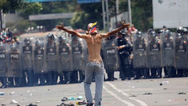 La situación en la frontera entre Venezuela y Colombia - Sputnik Mundo