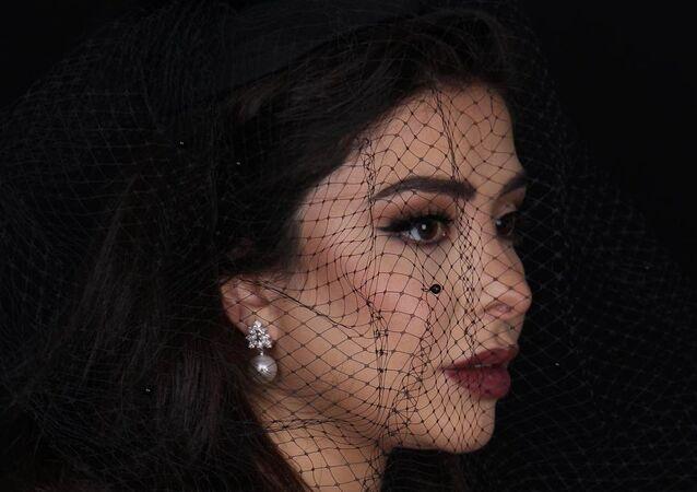 La nieta de Sadam Husein, Hareer Husein Kamel