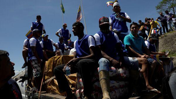 Situación en la frontera entre Brasil y Venezuela - Sputnik Mundo