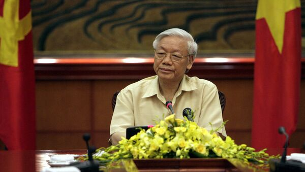 Presidente de Vietnam Nguyen Phu Trong - Sputnik Mundo