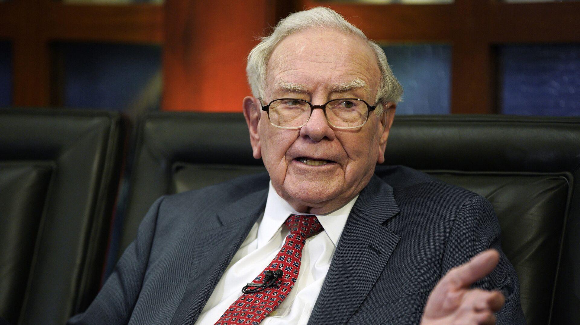 Warren Buffett, multimillonario estadounidense (archivo) - Sputnik Mundo, 1920, 01.05.2021
