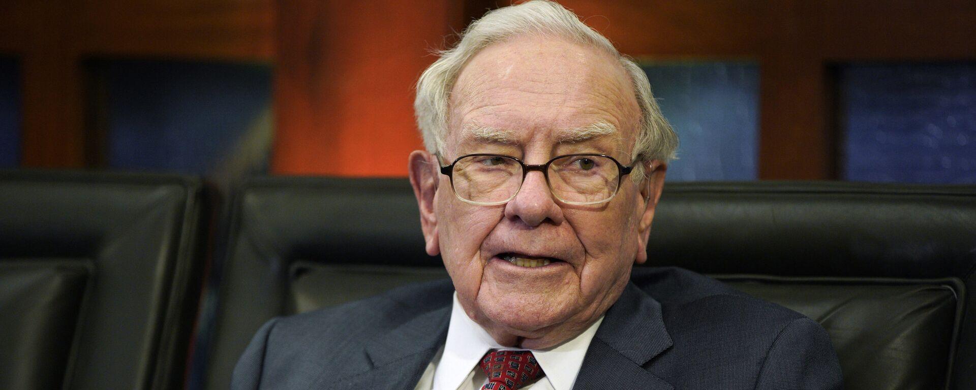 Warren Buffett, multimillonario estadounidense (archivo) - Sputnik Mundo, 1920, 16.10.2020