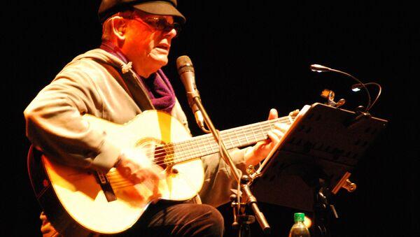 Silvio Rodríguez, cantautor cubano - Sputnik Mundo