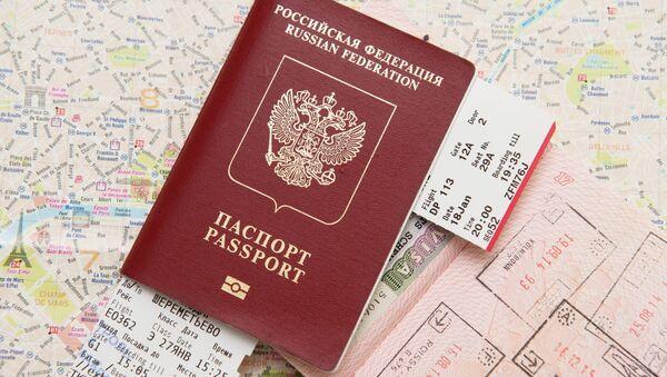 Un pasaporte extranjero de Rusia - Sputnik Mundo