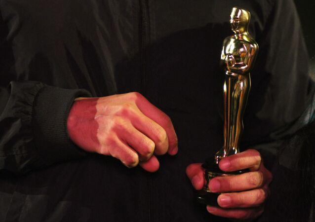 Una estatuilla de los premios Óscar (imagen referencial)