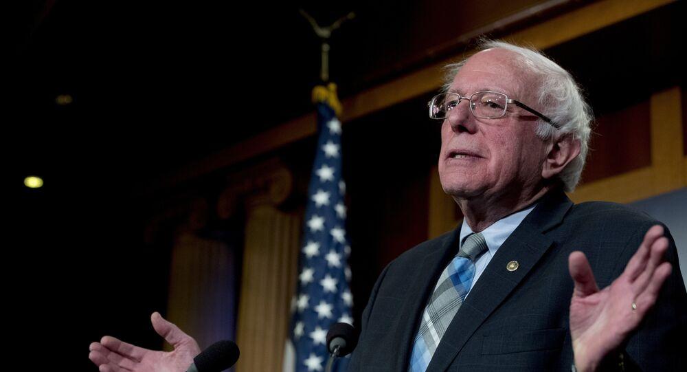 Bernie Sanders, senador estadounidense