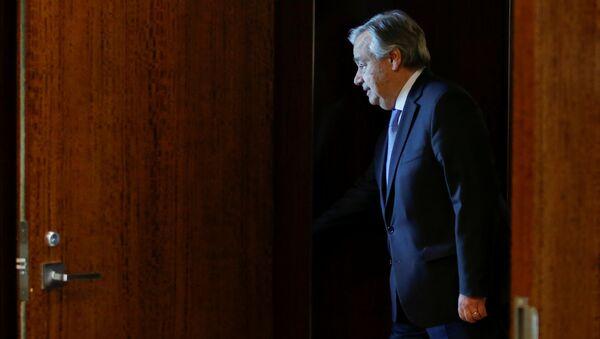 António Guterres, secretario General de la Organización de Naciones Unidas - Sputnik Mundo