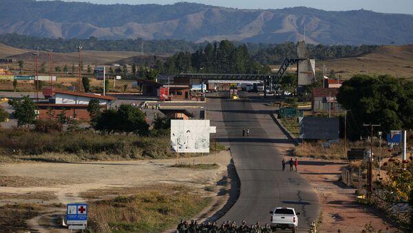 La frontera entre Brasil y Venezuela - Sputnik Mundo