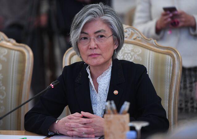 Kang Kyung-wha, ministra de Exteriores de Corea del Sur (archivo)