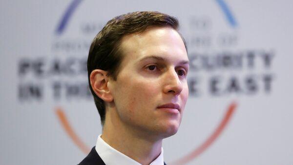 Jared Kushner, yerno de Donald Trump, presidente de EEUU - Sputnik Mundo