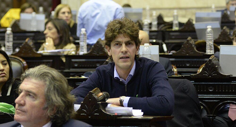 Martín Lousteau, aspirante a candidato a la presidencia de Argentina