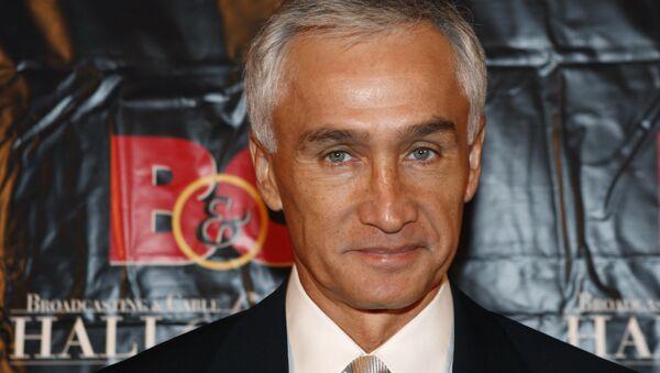 Jorge Ramos, periodista de la cadena Univisión - Sputnik Mundo