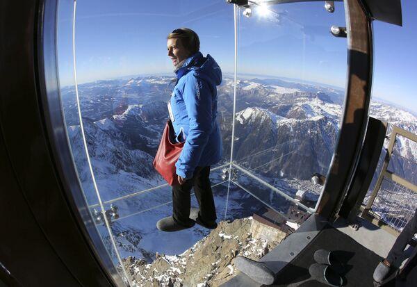 Cuando el abismo te devuelve la mirada: estos son los miradores más extraordinarios del mundo - Sputnik Mundo