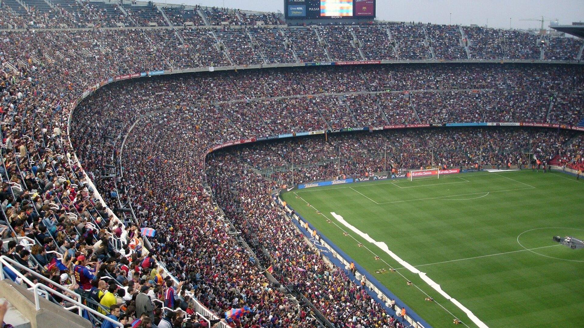 El estadio Camp Nou - Sputnik Mundo, 1920, 24.06.2021