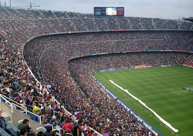 El estadio Camp Nou