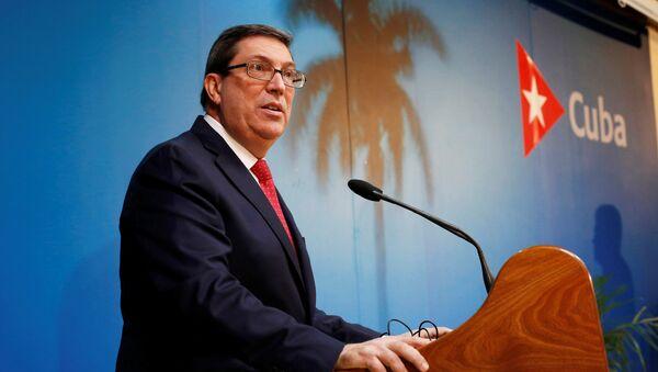 Bruno Rodríguez Parrilla, ministro de Exteriores de Cuba - Sputnik Mundo