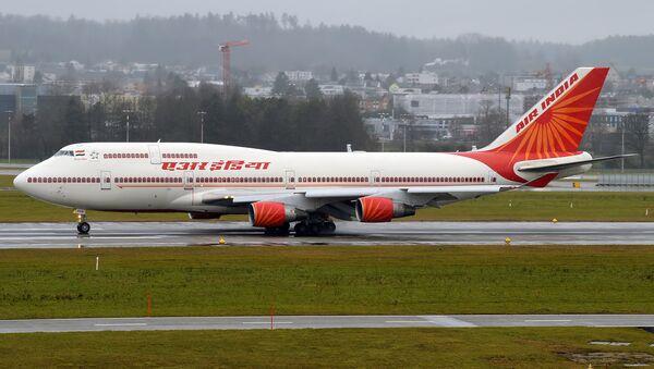 Un avión de Air India - Sputnik Mundo